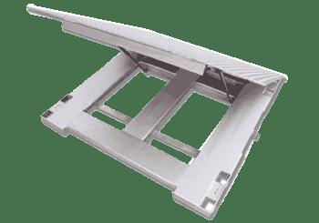 Stainless Steel Floor Scales Aegis Lift Deck