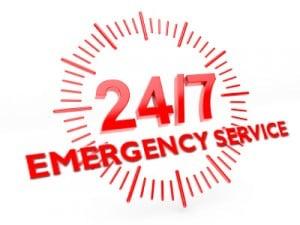 24/7 Emergency Service