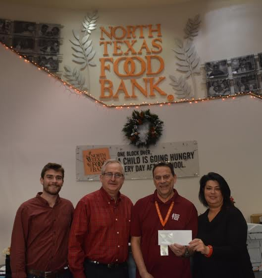 North Texas Food Bank 19,975 Meals Provided in 2015
