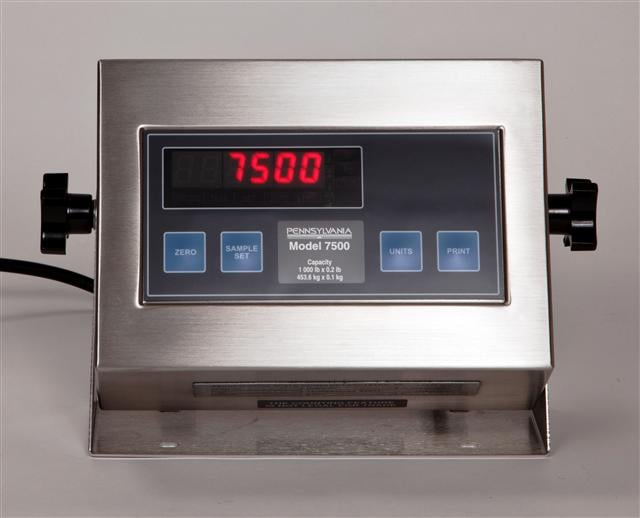 7500 Count Weigh Indicator