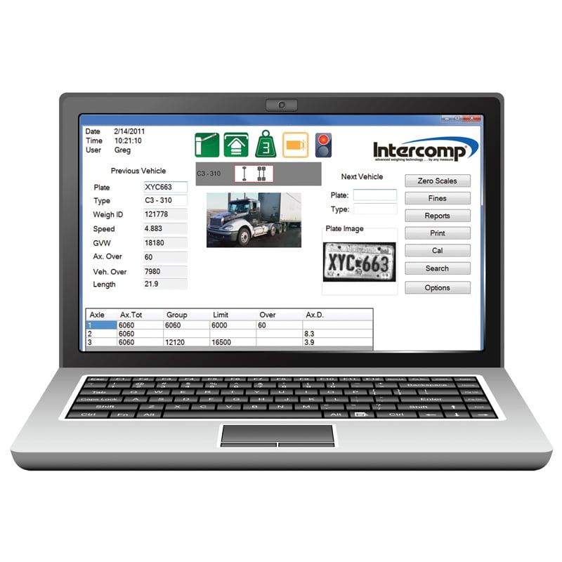 IntercompWIM Recipe Vehicle Weighing Software WIM Software