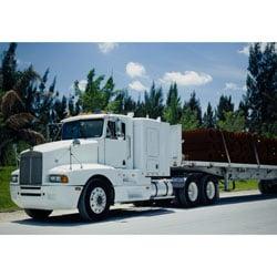 RL Flatbed tractor trailer