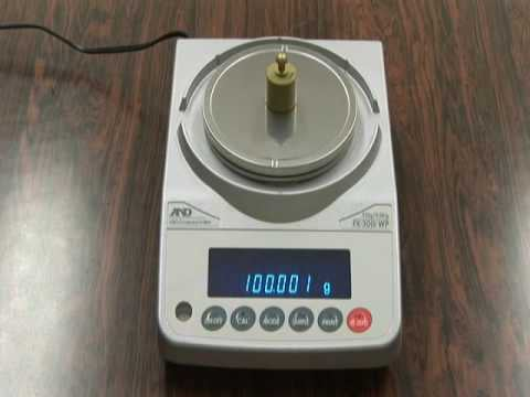 A&D Weighing FZ-iWP Video