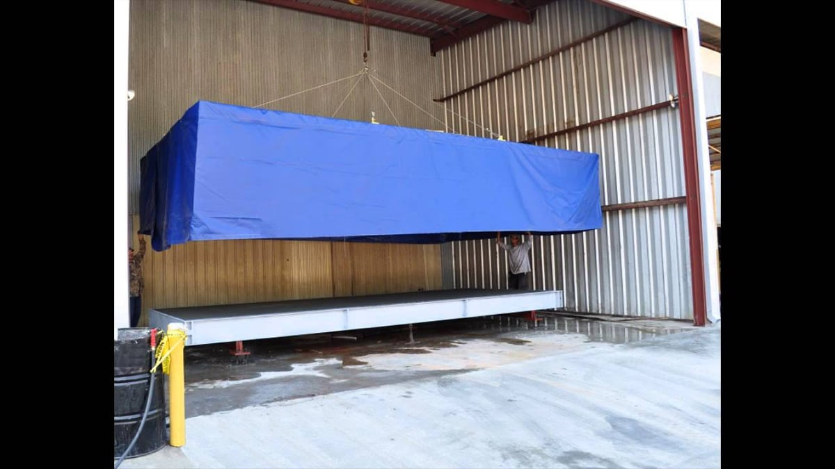 Fairbanks Trident Precast Truck Scale with TensileCore Engineered Concrete Deck Video