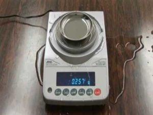 A&D Weighing FX-iWP Precision Balance Video