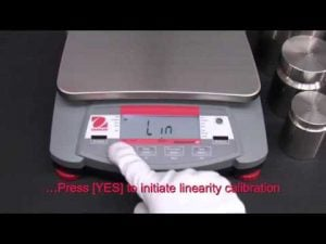 Ohaus Navigator Training - Operations: Linearity Calibration Video