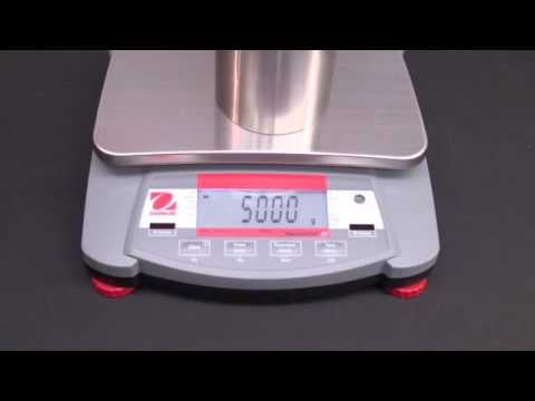 Ohaus Navigator Training - Operations: Span Calibration Video: Span Calibration