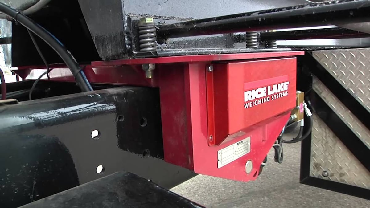 Rice Lake TradeRoute Legal for Trade Onboard Vehicle Scale Video