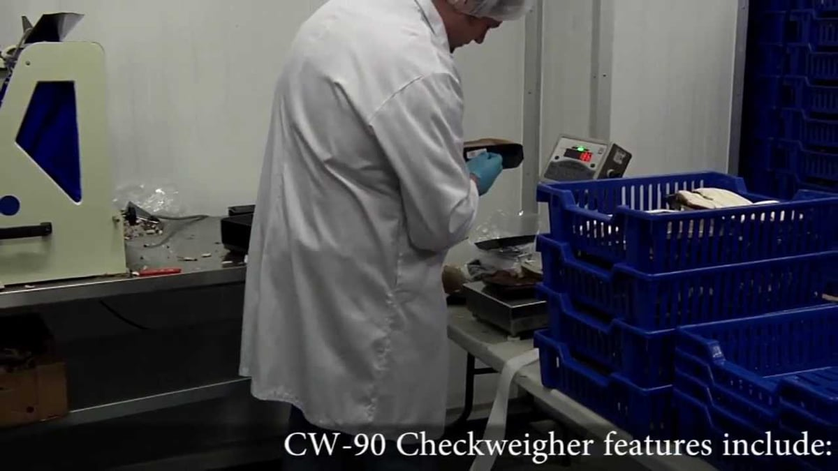 Rice Lake CW-90 Food Application Video