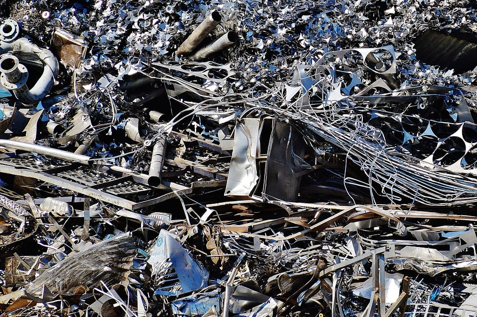 Steel Mill scrap metal
