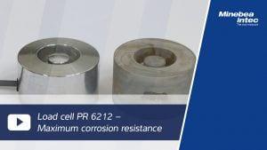 Minebea Intec Compact Compression Load Cell PR 6212