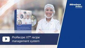 Minebea Intec ProRecipe XT Software