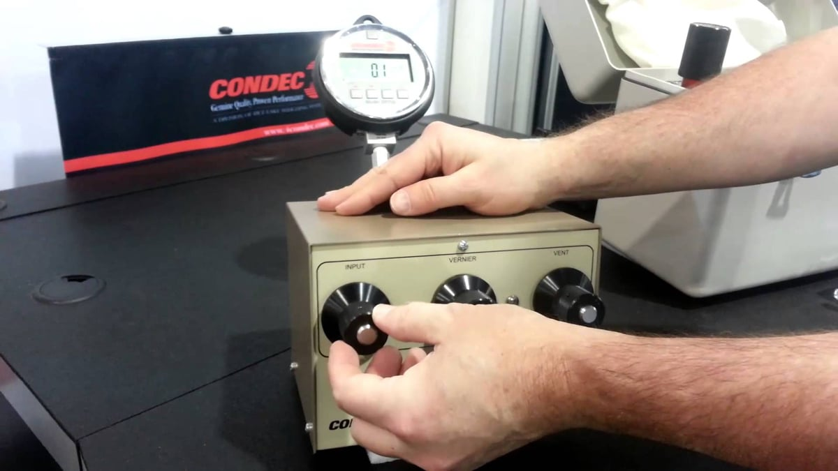 Rice Lake Condec Orion 2C/Orion 3A Precision Pneumatic Controllers Video