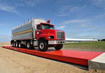 Diamondback Steel Deck Truck Scale