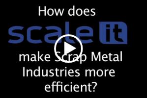 Scaleit W8 Scrap Metal Software Video