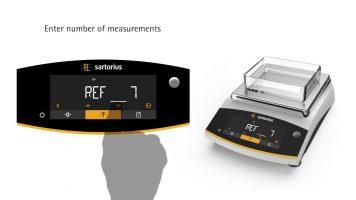 Sartorius Entris II Animal Weighing Video