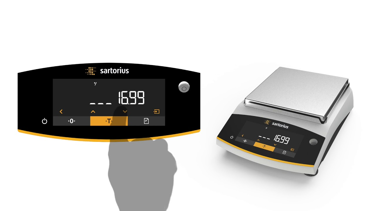 Sartorius Entris II Calculation Video