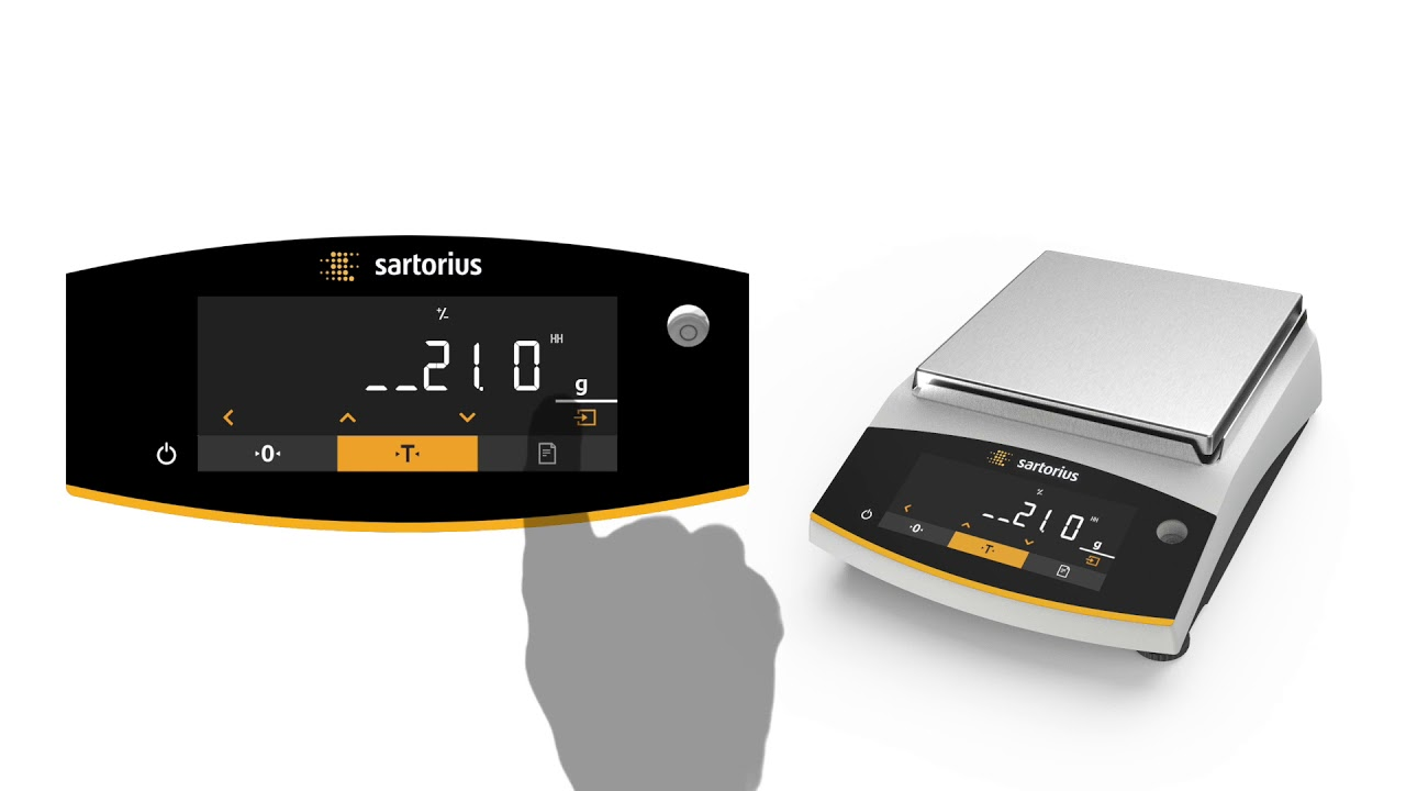 Sartorius Entris II Checkweighing Video