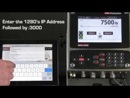 1280 Enterprise Series Wi-Fi Direct & Web Interface Video