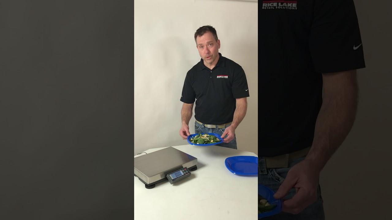 BenchPro Retail Scale Tare Demonstration Video