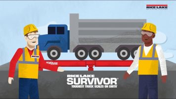 Rice Lake SURVIVOR Truck Scale Advantages Video