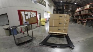 RoughDeck PW-1 Mild Steel Pallet Floor Scale Video