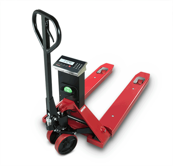 Rice Lake Hand Pallet Jack Scale