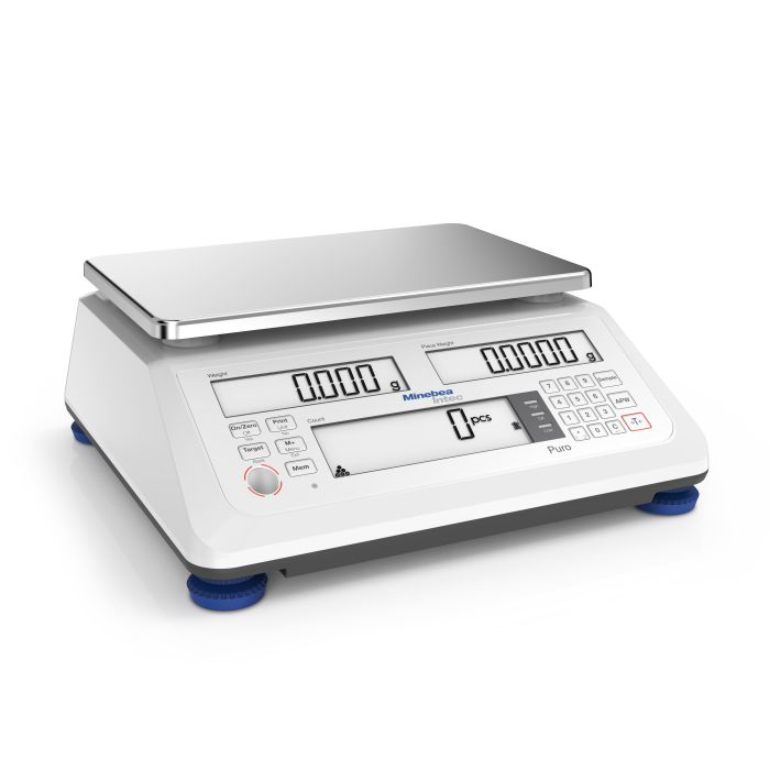 Minebea Intec Puro Count High Resolution Compact Scale Minebea Intec Puro Count Standard Resolution Compact Scale