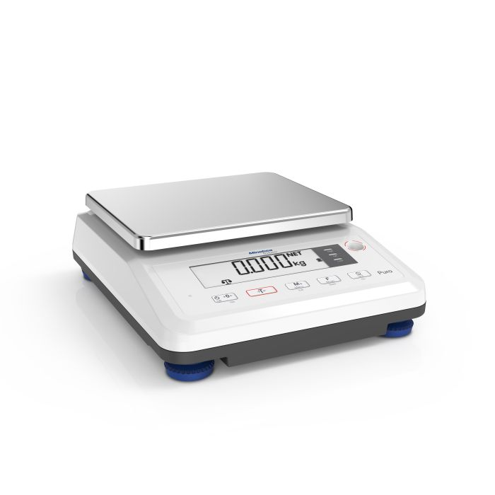 Minebea Intec Puro Compact Small Flat High Resolution Scale Minebea Intec Puro Compact Small Flat Standard Resolution Scale