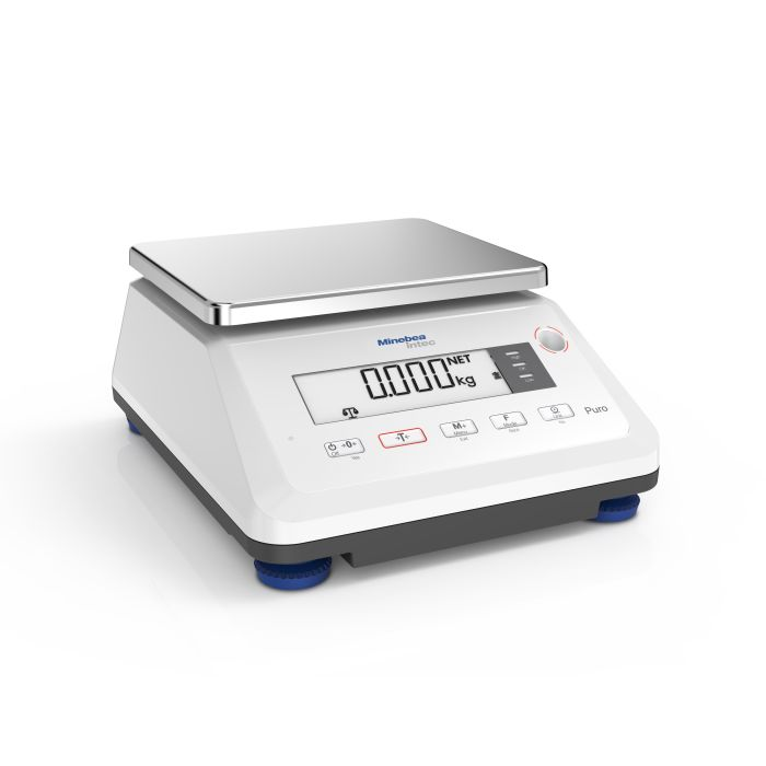Minebea Intec Puro Compact Small Tall High Resolution Scale Minebea Intec Puro Compact Small Tall Standard Resolution Scale